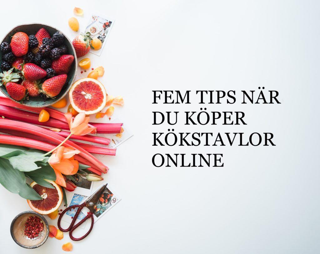 tips för kökstavlor online